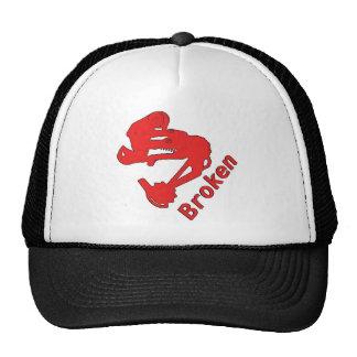 Broken Trucker Trucker Hat
