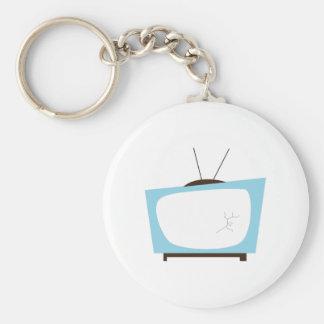 Broken TV Key Chain
