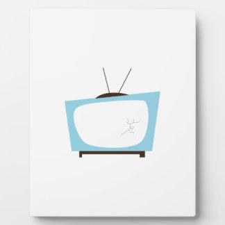 Broken TV Plaques