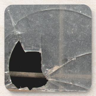 Broken Window Coaster