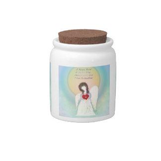 Broken Wing Angel Candy Jar