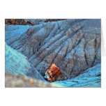 """""""Broken Wood in Blue Canyon"""" collection Greeting Cards"""