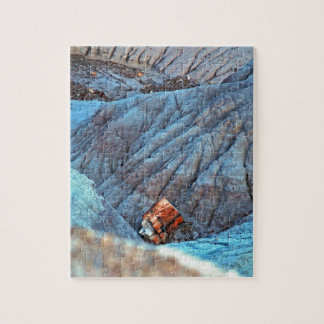 """Broken Wood in Blue Canyon"" collection Jigsaw Puzzle"