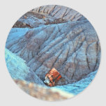 """""""Broken Wood in Blue Canyon"""" collection Sticker"""