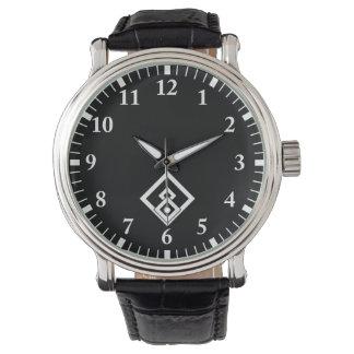 Broken wooded measure watch