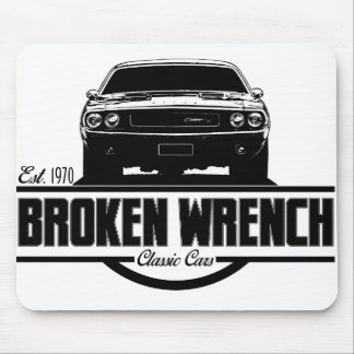 Broken Wrench Challenger Mouse Pad