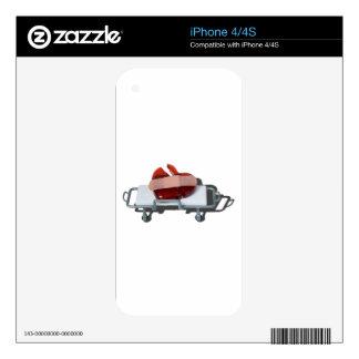 BrokenGlassHeartBandagedOnGurney092715.png iPhone 4S Decal
