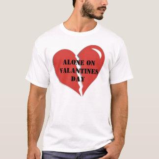 brokenheart1, Alone On  Valantines Day T-Shirt