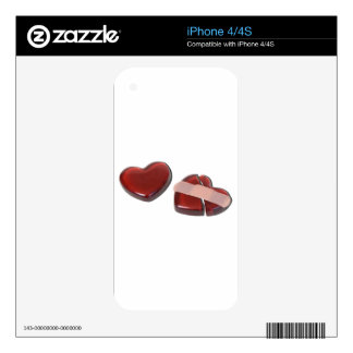 BrokenHeartMendedBandage092715.png iPhone 4S Skins
