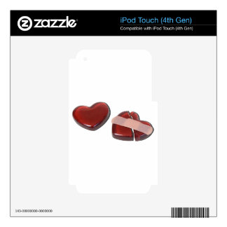 BrokenHeartMendedBandage092715.png iPod Touch 4G Skin