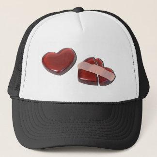 BrokenHeartMendedBandage092715.png Trucker Hat
