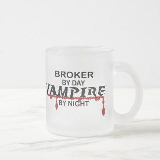 Broker by Day, Vampire by Night Coffee Mug