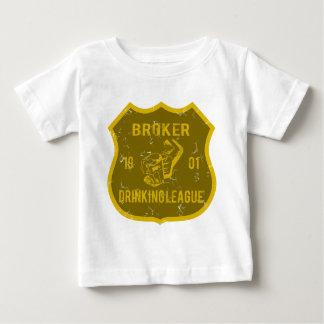 Broker Drinking League Baby T-Shirt