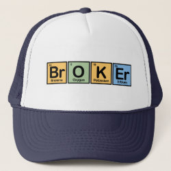 Trucker Hat with Broker design
