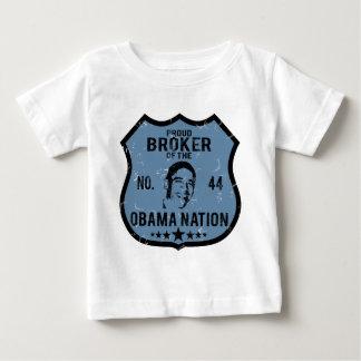 Broker Obama Nation Baby T-Shirt