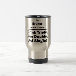 Broker Travel Mug