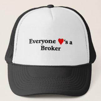 Broker Trucker Hat