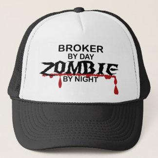 Broker Zombie Trucker Hat