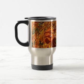 BROL Bright Orange Leaves Coffee Mugs