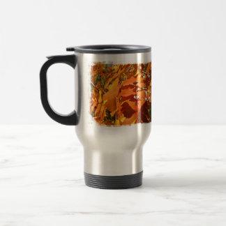 BROL Bright Orange Leaves Coffee Mug