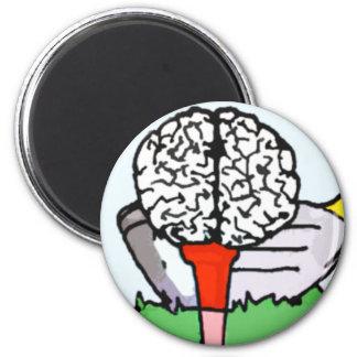 Brolf: Brain Golf! Magnet