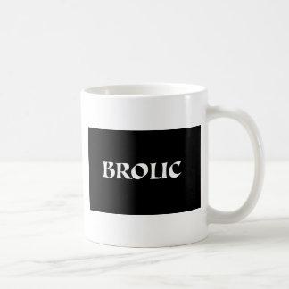 BROLIC TAZA BÁSICA BLANCA
