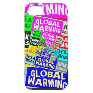 Broma del calentamiento del planeta iPhone 5 funda
