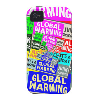 Broma del calentamiento del planeta vibe iPhone 4 carcasa