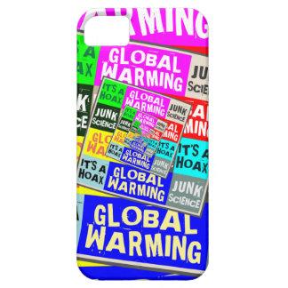 Broma del calentamiento del planeta funda para iPhone 5 barely there