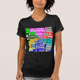 Broma del calentamiento del planeta t-shirt