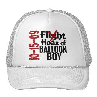 Broma del muchacho del globo gorras