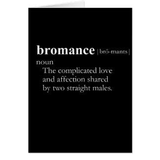 BROMANCE (definition) Card