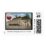Bromberg CENTRAL STATION Postage