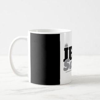 Bromea una taza