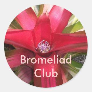 Bromeliad Club Classic Round Sticker