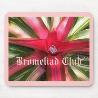 Bromeliad Club Mouse Pad