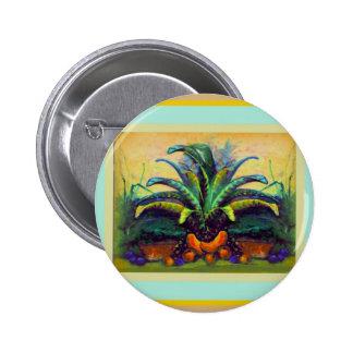 Bromeliad Pkant con la pintura de la fruta por Sha