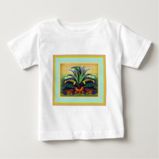 Bromeliad Pkant  with Fruit painting by Sharles Baby T-Shirt