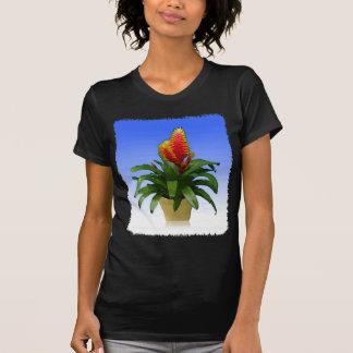 Bromeliad Vriesea Tosca Tee Shirt