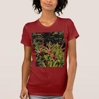 bromeliads live zen ladies tshirt