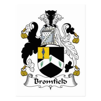 Bromfield Family Crest Postcard