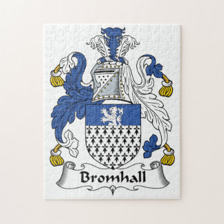 Bromhall Family Crest Puzzles