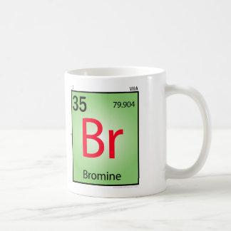 Bromine (Br) Element Mug