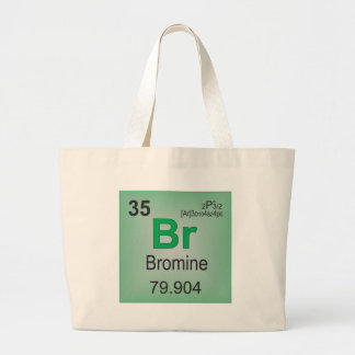 Bromine Individual Element of the Periodic Table Canvas Bag