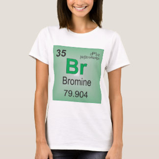 Bromine Individual Element of the Periodic Table T-Shirt