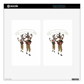 Bromley Horn Dance Decals For Kindle Fire