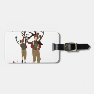 Bromley Horn Dance Luggage Tag