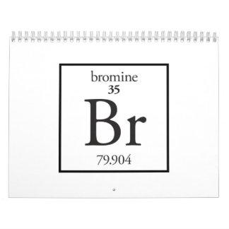 Bromo Calendario De Pared