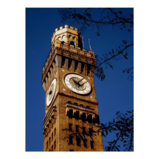 Bromo Seltzer Tower - Baltimore, Maryland Poster