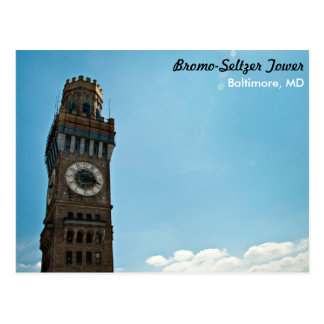 Bromo-Seltzer Tower Baltimore Post Card